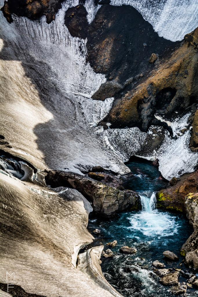 Waterfall Iceland Landscape Marc Lorin Fassbender schön Landschaft
